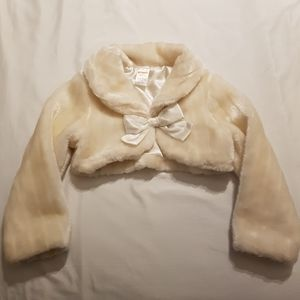 Off white bolero jacket